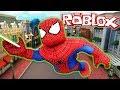 EN GÜÇLÜ ÖRÜMCEK ADAM OLUP SAVAŞTIM! - Roblox Süper Kahramanlar Fabrikası