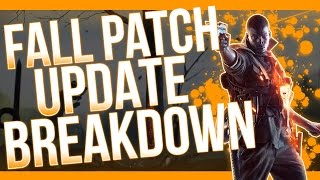 EPIC PATCH NOTES! Battlefield 1 Patch Note Breakdown (BF1 Gameplay Fall Update)
