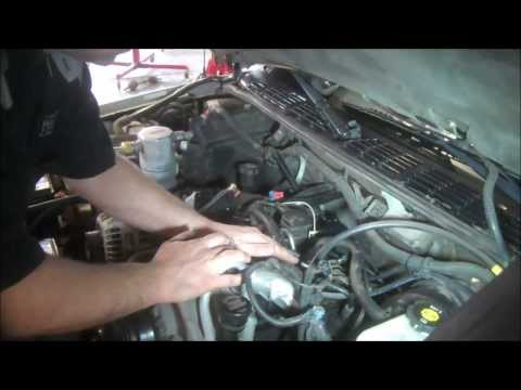 Intake manifold removal Chevrolet S10 4.3L PART 1  lower intake gasket remove, i