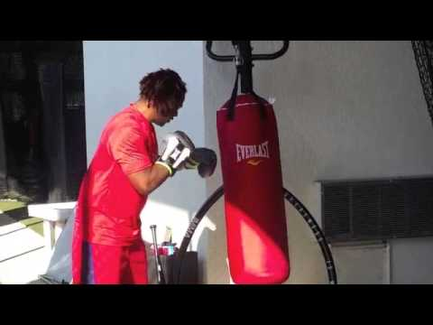 Hanley Ramirez the boxer
