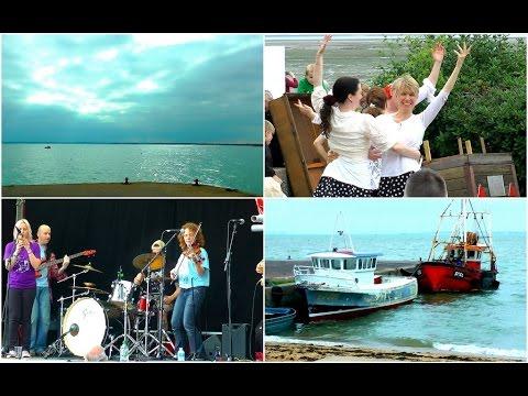 London beach seaside festival - Leigh on Sea Essex England - Southend