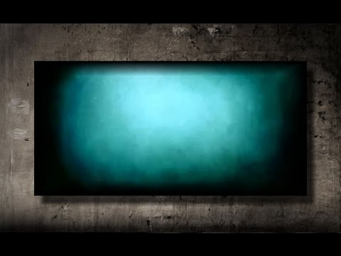 How to paint a vibrant turquoise background fast and easy for Acrylic background techniques