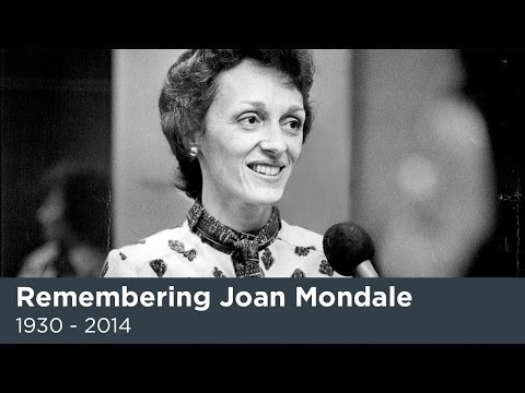 Joan Mondale, wife of former Senator and Vice-President Walter Mondale, passed away this week at the age of 83. She was a passionate arts advocate, partner i...