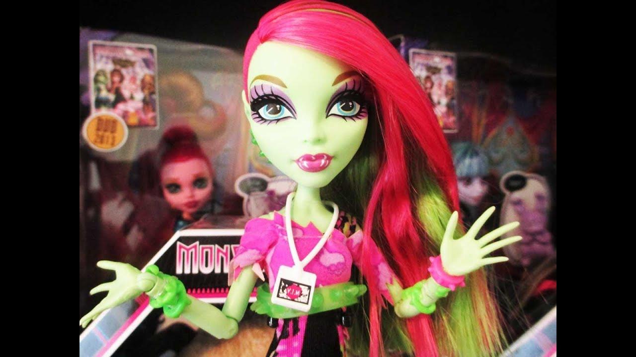 Venus Mcflytrap Doll MONSTER HIGH VENUS MCFLYTRAP
