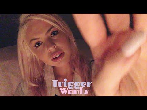 Asmr Trigger Words Kiss Stipple Sleep With Hand Movements