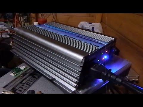 GWV 600W Grid Tie Failure