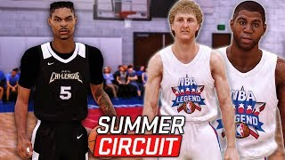 "NBA 2K19 MyCareer ""Summer Circuit"" #2 - NBA All-Time Legends Are GODLY! Did The Last Shot Count?!"