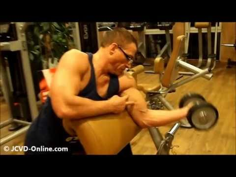 Jean-Claude Van Damme - The Expendables 2 - Training Montage #1