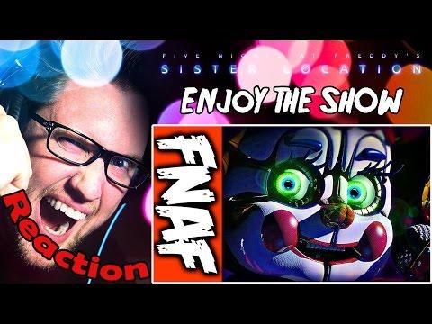 """Enjoy the Show"" - FNAF SL Song by NateWantsToBattle feat. JackSepticEye REACTION!"