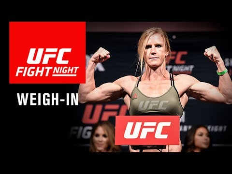 UFC Fight Night Singapore: Official Weigh-in