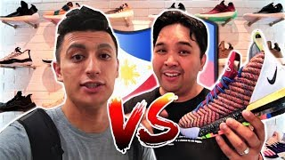 Philippines Sneaker Shopping CHALLENGE! With Carlo Ople! (Manila Vlog)