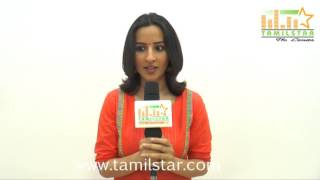 Amrutha Srinivasan At Aviyal Movie Team Interview