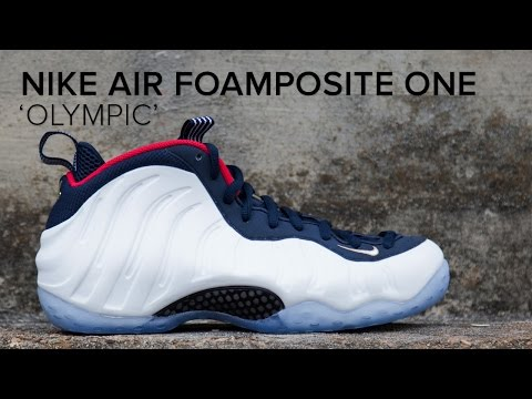 Nike Air Foamposite One 'Olympic' Quick On Feet Look