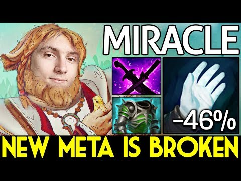 NEW META IS BROKEN! CARRY Omniknight by Miracle- Dota 2 7.07c