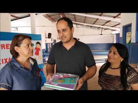 Ano Letivo - Visita a Escola Enio Carlos Bortolini