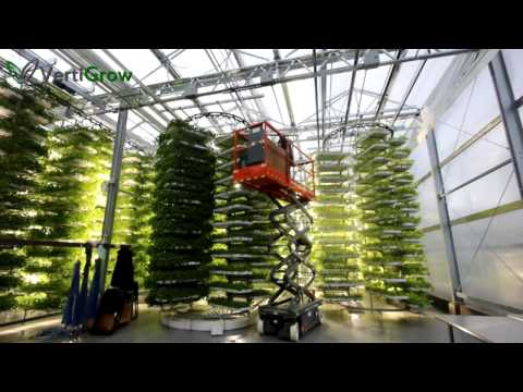 Vertical Farm Design Concept Video