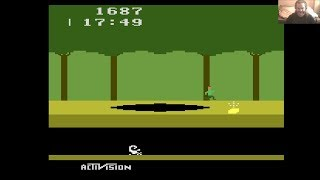 Lukozer Retro Game Review - 545 - Pitfall - Atari 2600 (VCS)