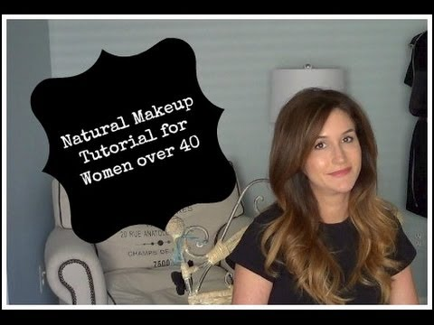 Natural Makeup Tutorial for Women over 40