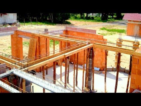 Budowa domu krok po kroku.  26-30 Strop, belki, podciągi, KURS DVD POD FILMEM