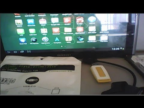 Como conectar a tu Tablet android un dispositivo externo(USB Flash ,Teclado o un Mouse Ect)