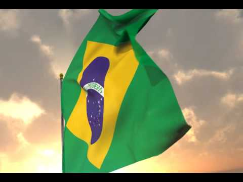 Flag of Brazil Video