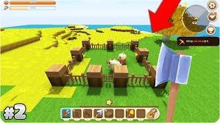 MINI WORLD TẬP 2 : TRỒNG LÚA VÀ LÀM CHUỒNG BÒ   MK Gaming Thế Giới Tí Hon