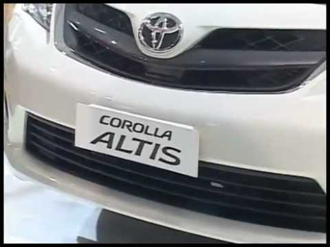 Toyota launched the COROLLA Altis @ 11th Auto Expo 2012 delhi