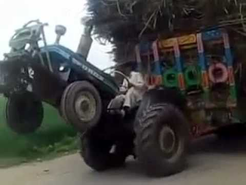 Tractor Stunts You Can't Believe. Must Watch video