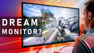 "This 43"" Gaming Monitor Is EPIC!  ASUS ROG XG438Q Review"