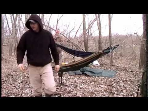Wet overnight in a hammock - Part 1