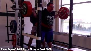 Francis Rousseau - Training 2014-11-03