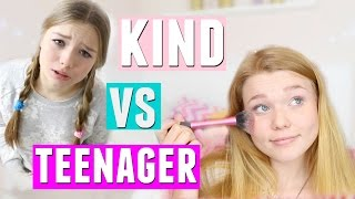 Was KINDER machen VS was TEENAGER machen! mit Julia Beautx | Meggyxoxo