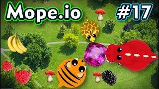 Mope.io - REAL COM MOD TEDDY BEAR - Gameplay #17