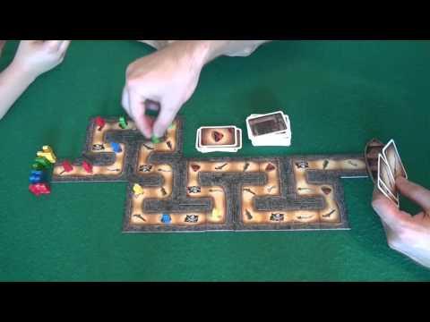 Картахена - играем в настольную игру, board game Cartagena