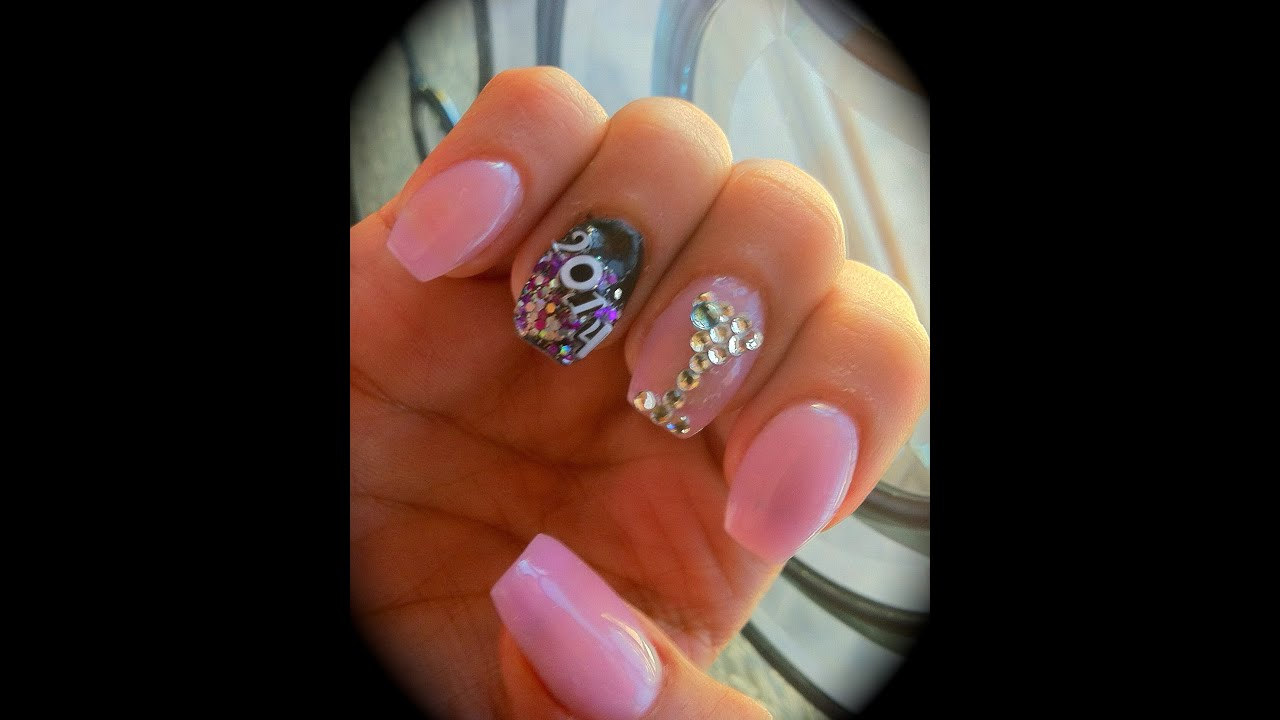 Acrylic Nail Designs For New Years: Gallery for gt new years acrylic ...