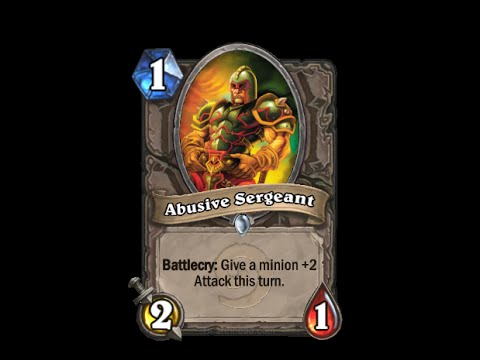 Abusive Sergeant - Hearthstone Text   Message   Alert Tones (links In Description) video