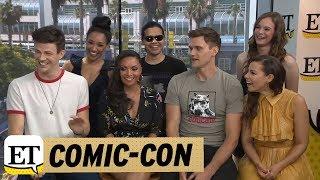 Download Lagu Comic-Con 2018: The Cast Of The Flash Talks Season 5 Romance And 'Bromance' Gratis STAFABAND