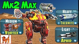 War Robots Mk2 Maxed Viewer Requests Spectre & Golem Gameplay