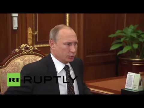 Russia: Putin talks oil and gas sector with Environment Minister Donskoi