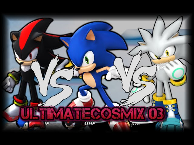 SSBC Awesome Epic Rival Battle - Sonic VS Shadow VS Silver