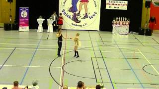 Franziska Schmidt & Paul Weiland - Landesmeisterschaft Bayern 2015
