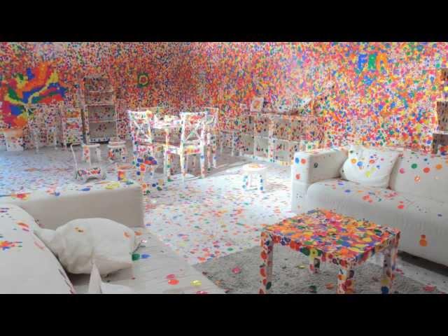 TateShots: Kusama's Obliteration Room