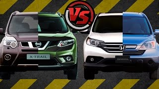 2hp: Nissan X-Trail Vs Honda CR-V