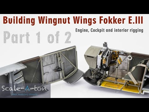 1:32 Wingnut Wings Fokker E.III | Step by Step Scale Model Aircraft Build