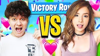 FaZe Jarvis Vs Pokimane (Little Brother 1v1's Crush)