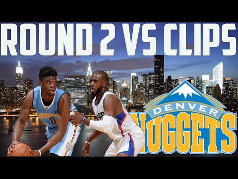 NBA 2K16 MyGM | Denver Nuggets | Rockets Were Trash, How About The Clippers? (Round 2 Playoffs)