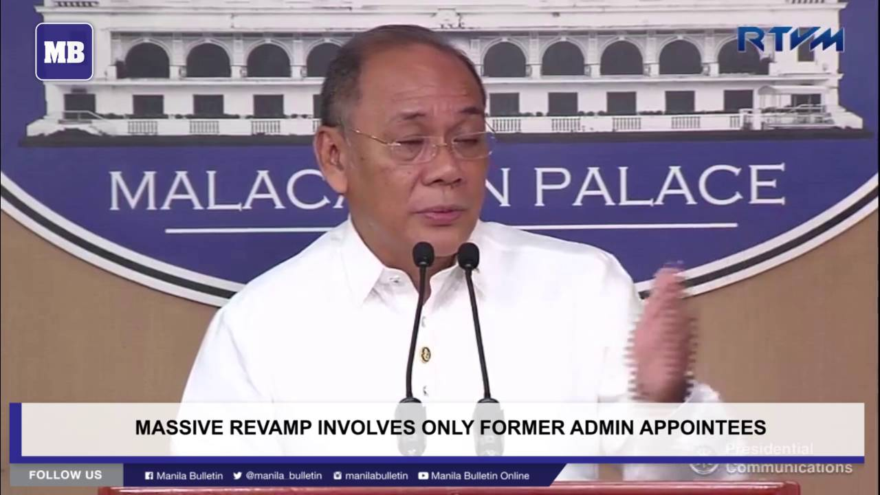 Massive revamp involves only former admin appointees