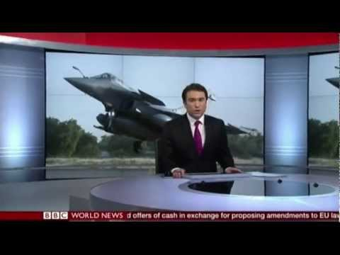 BBC World News First Bulletin New Studio