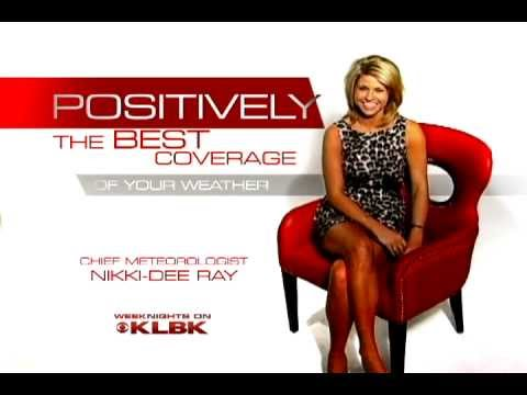 Klbk wx positively meteorologist nikki dee ray youtube