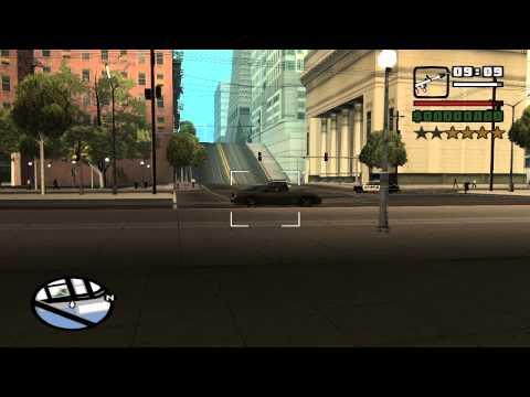 GTA SA Real ragdoll